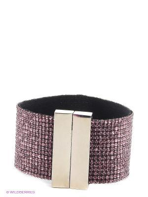 Браслет Kameo-bis. Цвет: фиолетовый, серебристый