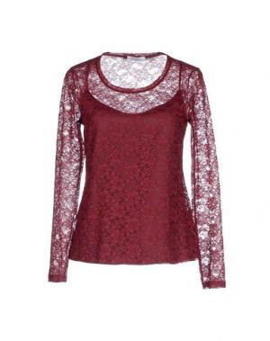 Блузка ZANETTI 1965. Цвет: красно-коричневый