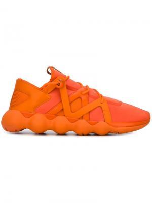 Кроссовки Kyujo Y-3. Цвет: жёлтый и оранжевый