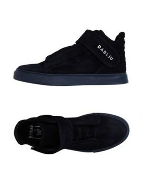 Высокие кеды и кроссовки W DABLIU. Цвет: синий