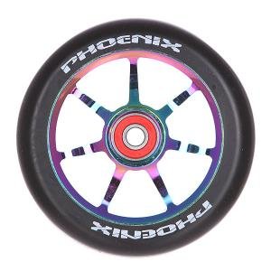 Колесо для самоката  Alloy Core Wheel Twin Pack Neo Chrome/Black Phoenix. Цвет: черный
