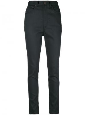 Узкие джинсы Stovepipe Marc Jacobs. Цвет: чёрный
