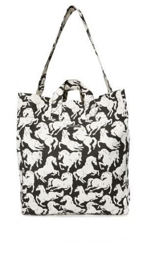 Пляжная сумка Horse с принтом Stella McCartney
