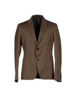 Пиджак MM BY MARIOMATTEO. Цвет: коричневый