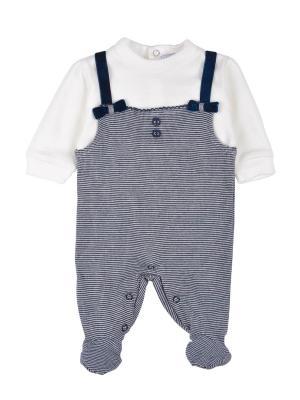 Комбинезон детский MANAI. Цвет: серый