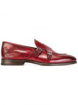 Ботинки-монки Henderson Baracco. Цвет: красный