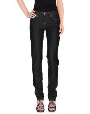 Джинсовые брюки TAVIANI. Цвет: черный