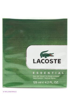 Туалетная вода Lacoste Essential, 125 мл. Цвет: зеленый, белый