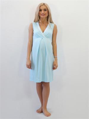 Ночная сорочка Адель. Цвет: светло-голубой