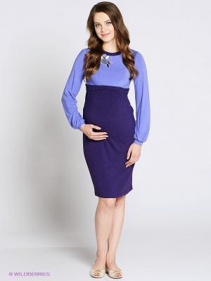 Платье UNIOSTAR. Цвет: сиреневый, лиловый
