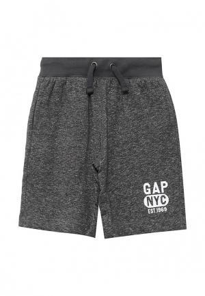 Шорты спортивные Gap. Цвет: серый