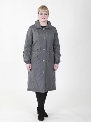 Пальто Астрид VIKO. Цвет: серый