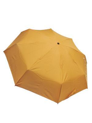 Зонт Edmins. Цвет: горчичный, белый