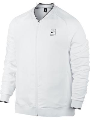 Куртка M NKCT JKT BASELINE FZ Nike. Цвет: белый, антрацитовый