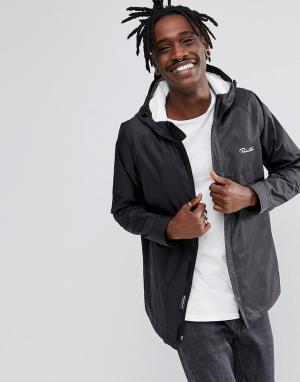 Primitive Куртка-дождевик Skateboarding. Цвет: черный