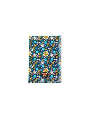Чехол для проездного Магические цветы TonyFox. Цвет: синий, фиолетовый, красный, желтый