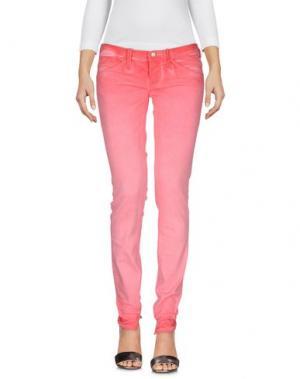 Джинсовые брюки CYCLE. Цвет: коралловый