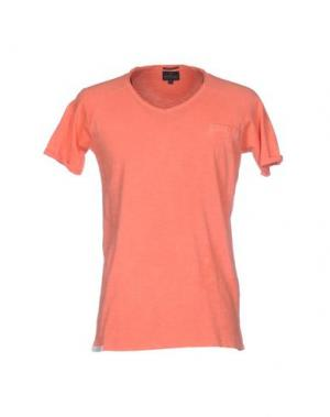 Футболка NORTH POLE. Цвет: оранжевый