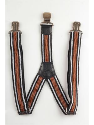 Подтяжки джинсовые INDIVIDUUM. Цвет: черный, белый, коричневый