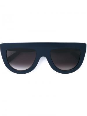 Солнцезащитные очки  Shadow Céline Eyewear. Цвет: синий
