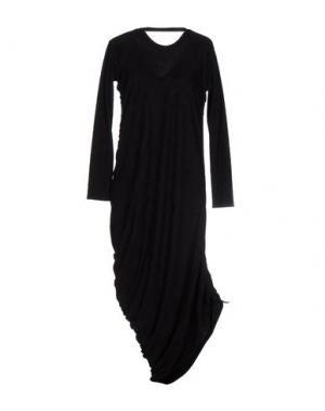 Длинное платье MNML COUTURE. Цвет: черный