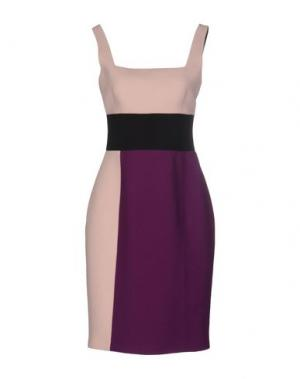 Короткое платье FAUSTO PUGLISI. Цвет: фиолетовый