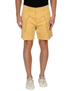 Бермуды MINIMAL. Цвет: желтый