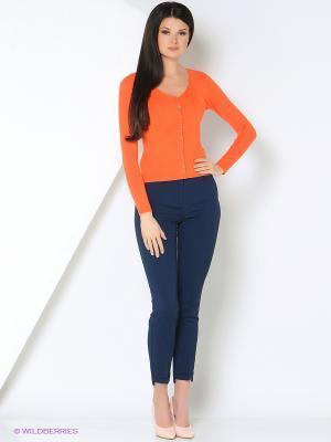 Кардиган RUXARA. Цвет: оранжевый