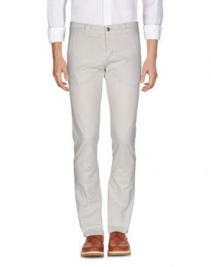 Повседневные брюки 9.2 BY CARLO CHIONNA. Цвет: слоновая кость