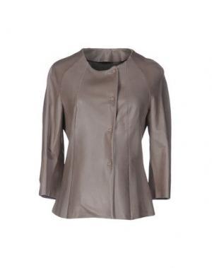 Куртка SALVATORE SANTORO. Цвет: серый
