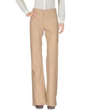 Повседневные брюки ENES. Цвет: бежевый