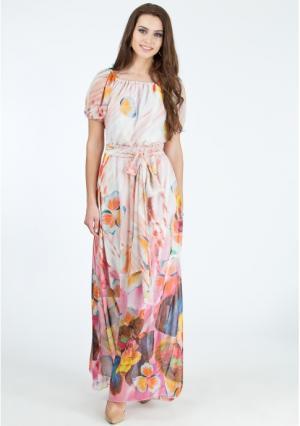 Платье MY STYLE. Цвет: светло-розовый