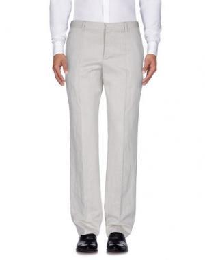 Повседневные брюки JEAN PAUL GAULTIER. Цвет: светло-серый