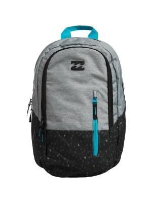 Рюкзак SHADOW BILLABONG. Цвет: черный, синий, серый