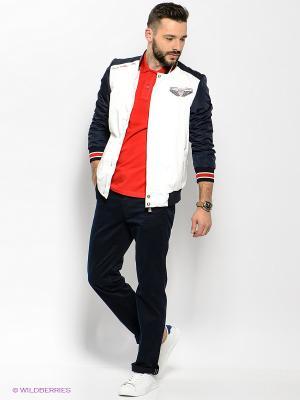 Куртка U.S. Polo Assn.. Цвет: белый, темно-синий
