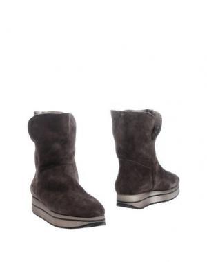 Полусапоги и высокие ботинки D'ACQUASPARTA. Цвет: стальной серый