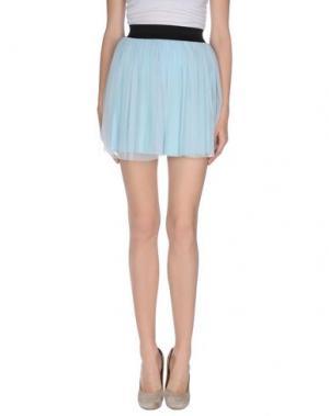 Мини-юбка BAGUETTE...... Цвет: небесно-голубой