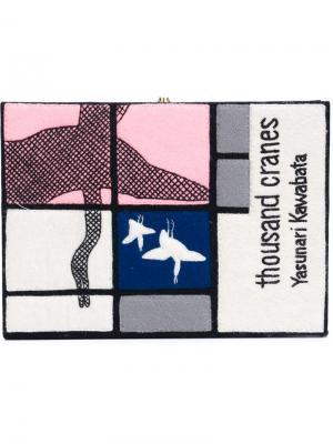 Клатч-книга Thousand Cranes Olympia Le-Tan. Цвет: многоцветный