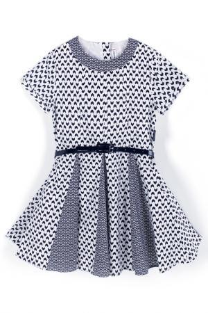 Платье Coccodrillo. Цвет: белый, черный