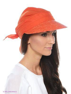 Кепка SEEBERGER. Цвет: оранжевый