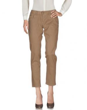 Повседневные брюки GERMANO ZAMA. Цвет: хаки