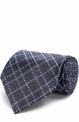 Шелковый галстук Tom Ford. Цвет: темно-синий