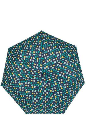Зонт Labbra. Цвет: темно-синий, желтый, морская волна