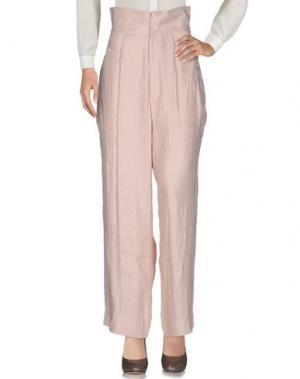 Повседневные брюки TSUMORI CHISATO. Цвет: розовый