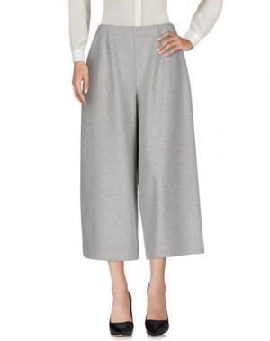 Повседневные брюки HARRIS WHARF LONDON. Цвет: светло-серый