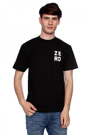 Футболка  Numero Black/White Zero. Цвет: черный