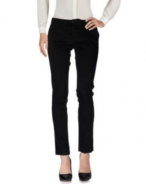 Повседневные брюки CRUCIANI. Цвет: черный