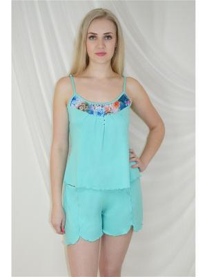 Пижама Miata. Цвет: зеленый