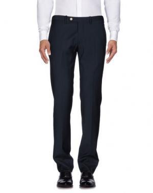 Повседневные брюки EREDI CHIARINI. Цвет: темно-синий