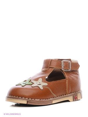 Туфли ТАШИ ОРТО. Цвет: коричневый